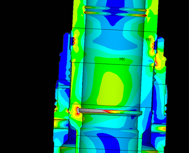 wellhead analysis FEA