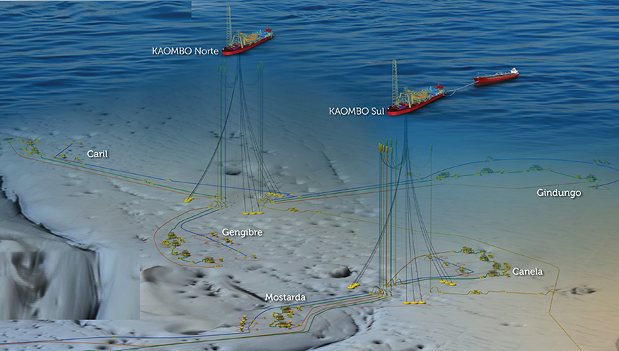 Kaombo Ultra Deepwater Hybrid Risers 2h Offshore
