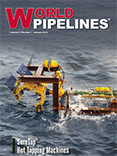 Cover of world pipelines magazine