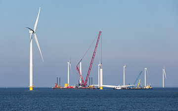 wind farm installation